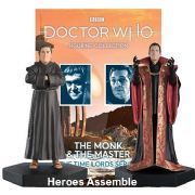 Doctor Who Figurine Collection The Master And The Monk Time Lords Set 2 Eaglemoss